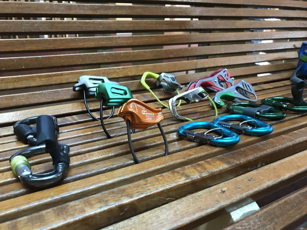 Belay equipment