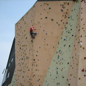 voorklimmen outdoor klimwand