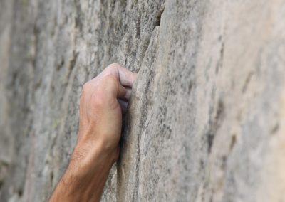techniek handen boulderen