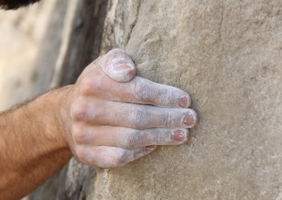 techniek handen klimmen