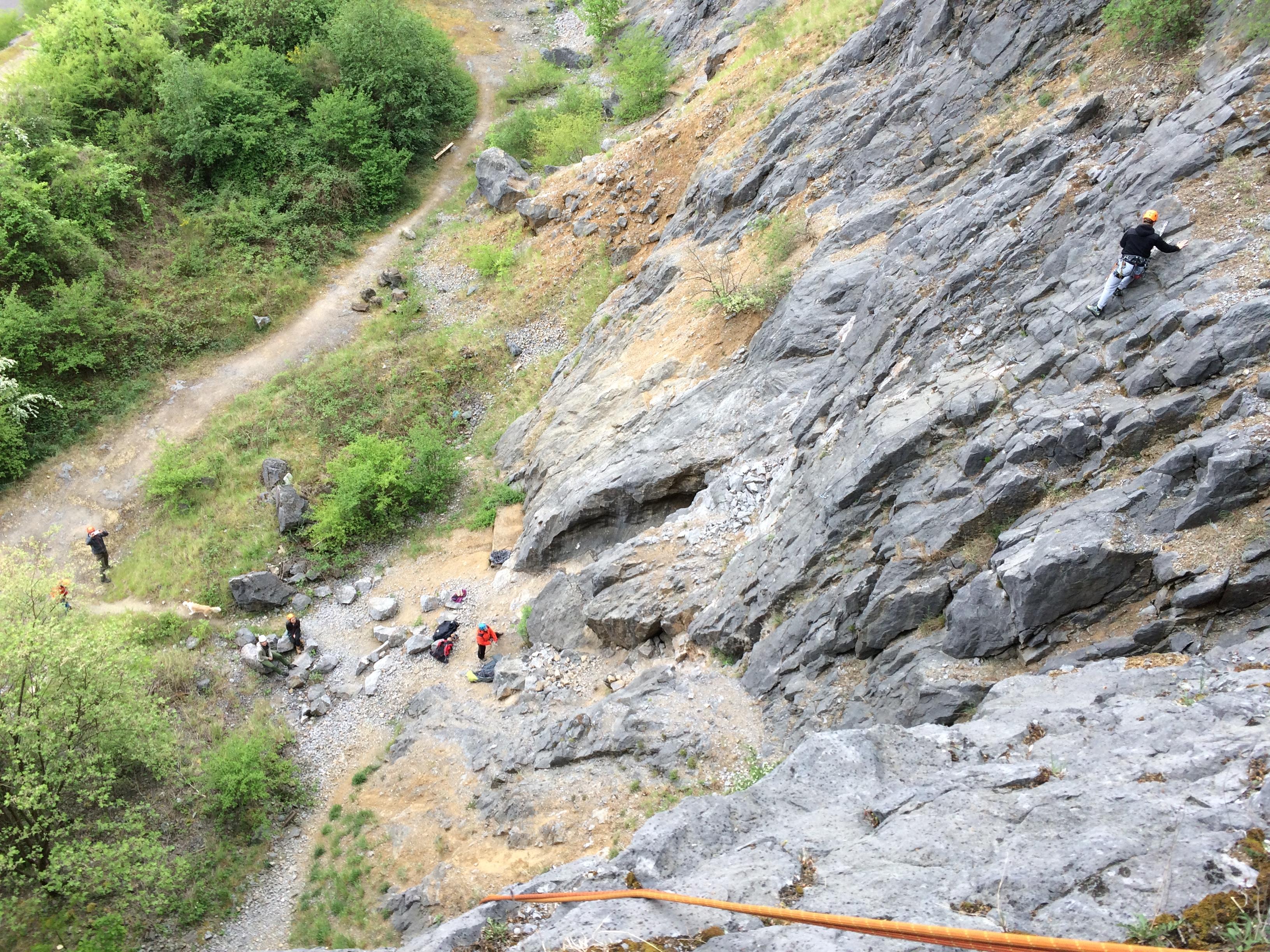outdoor klimmen