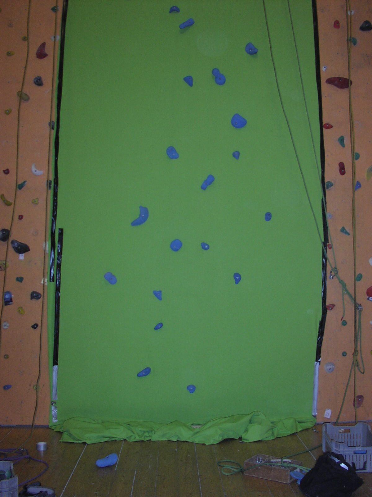 Green screen climbing